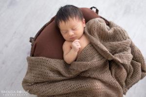 Sesión fotográfica newborn Barcelona – Kai